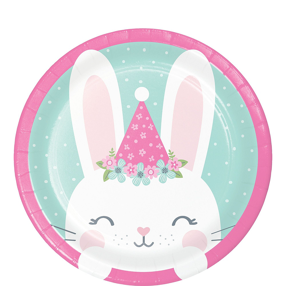 Super Some Bunny Baby Shower Party Kit for 32 Guests Image #2