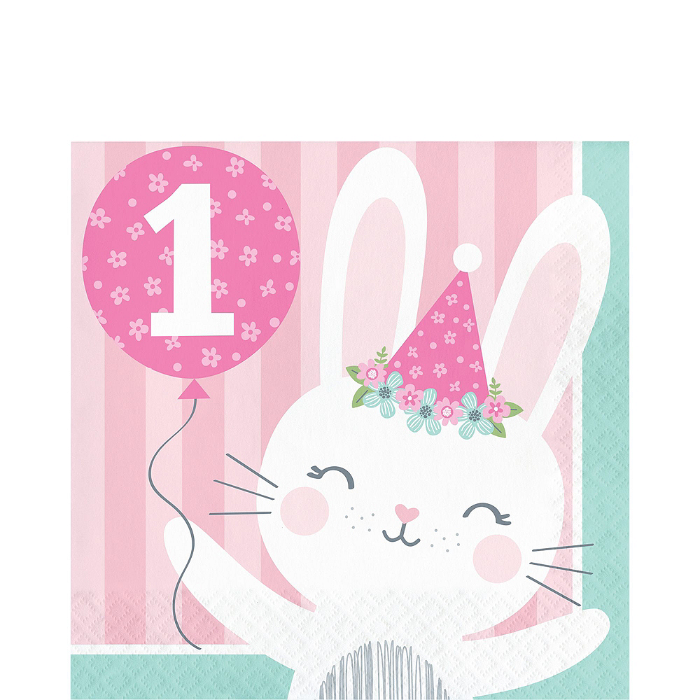 Super Some Bunny Baby Shower Party Kit for 32 Guests Image #5