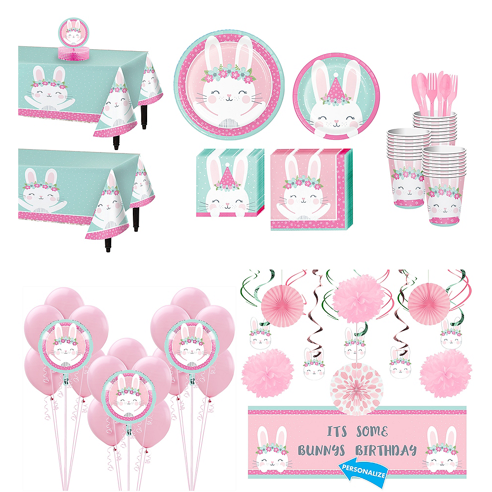 Nav Item for Super Some Bunny Party Kit for 32 Guests Image #1