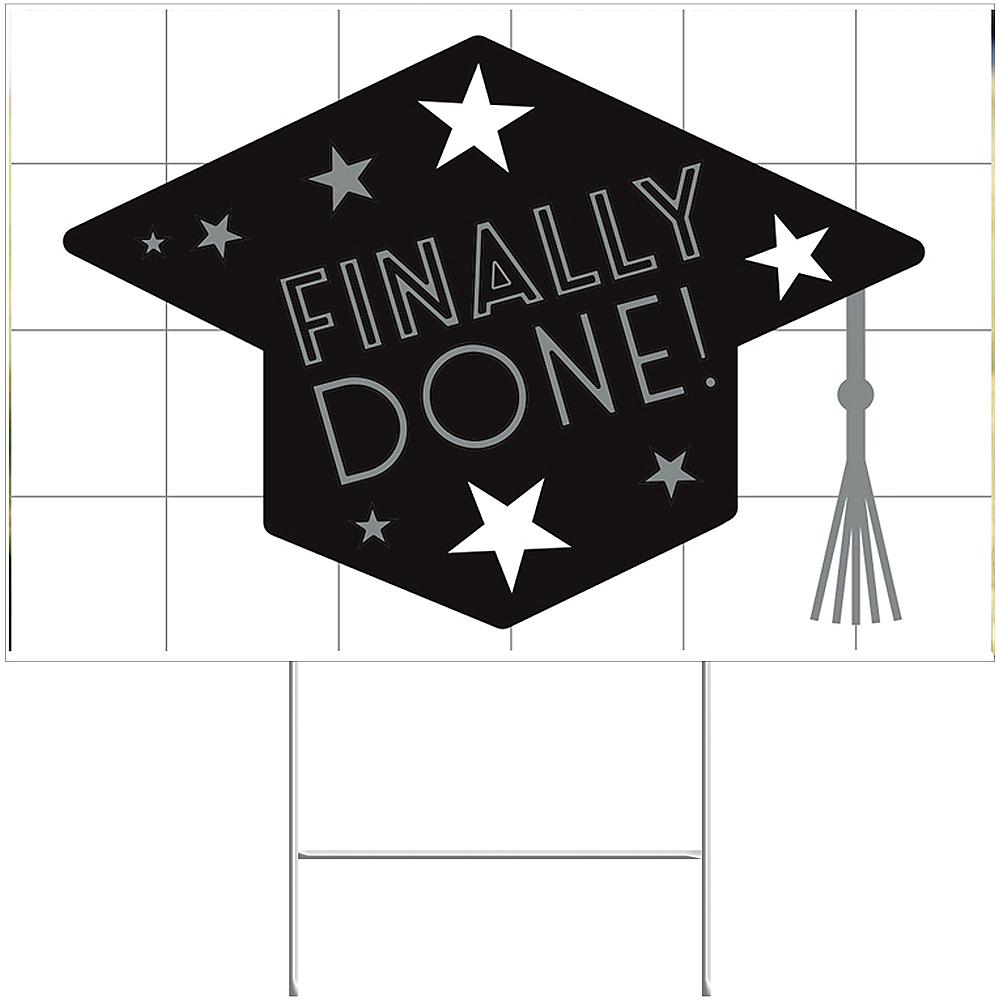 Grid Graduation Yard Sign Image #1