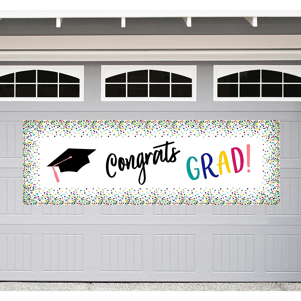 Yay Grad Graduation Outdoor Banner Image #1