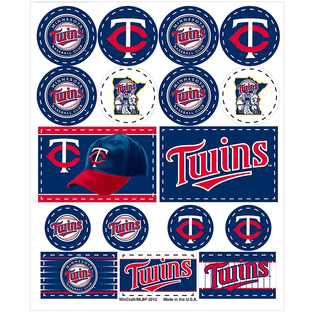 Minnesota Twins Stickers 1 Sheet Image #1