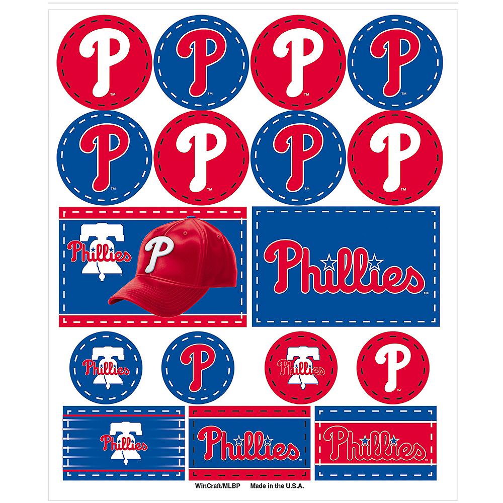 Philadelphia Phillies Stickers 1 Sheet Image #1