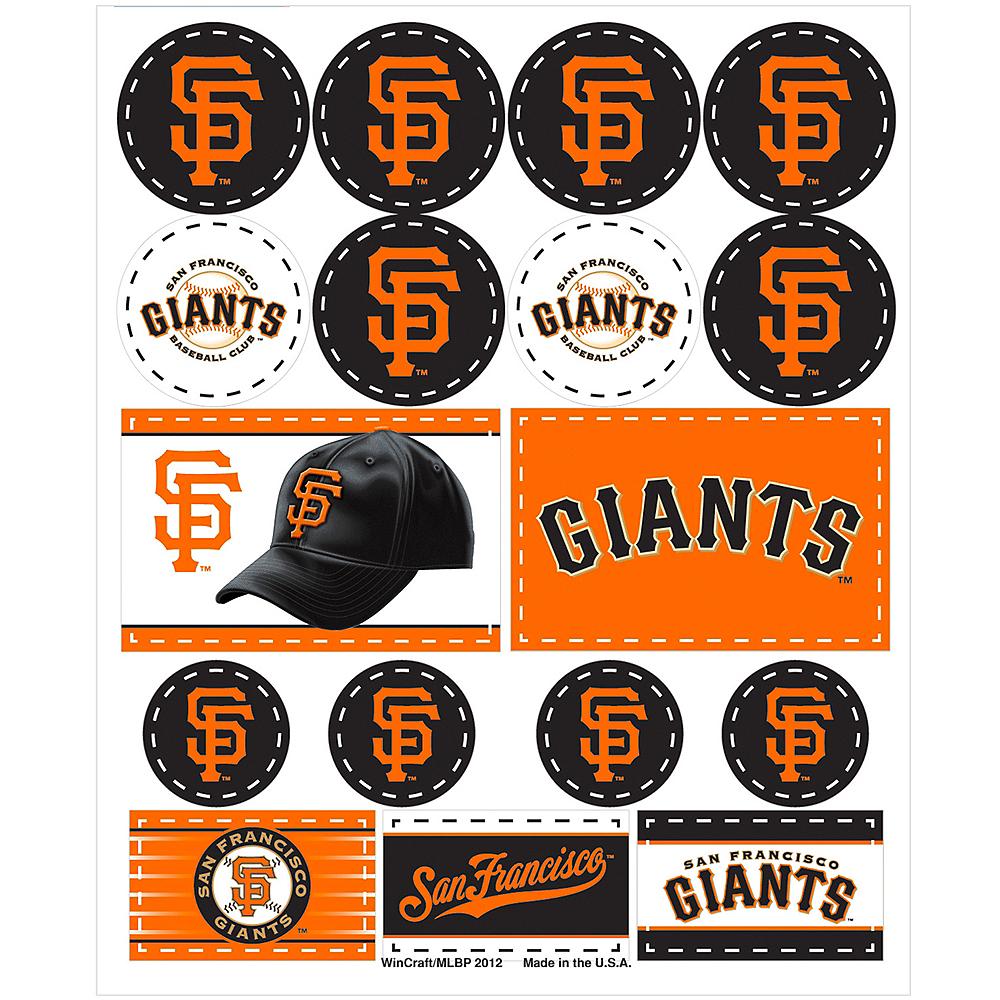 San Francisco Giants Stickers 1 Sheet Image #1