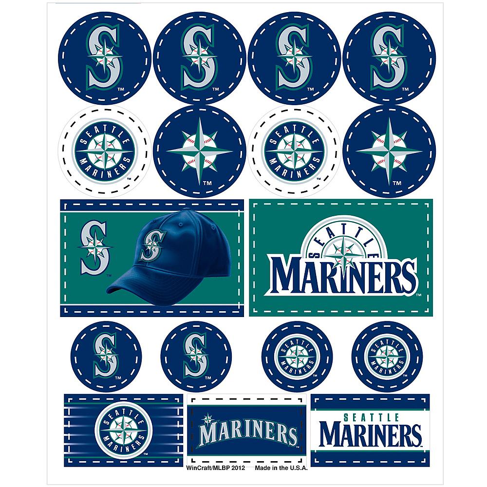Seattle Mariners Stickers 1 Sheet Image #1