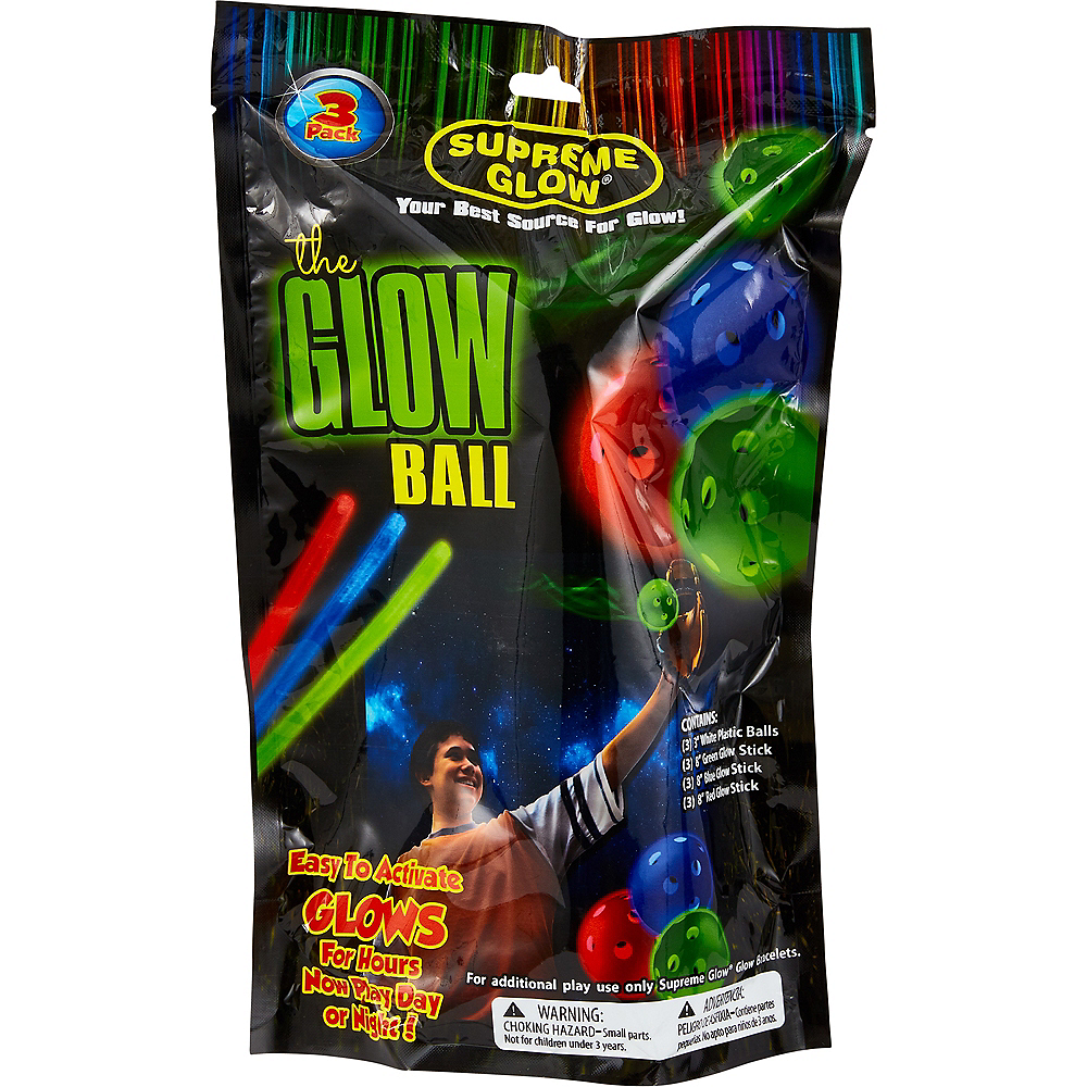 The Glow Ball Pack 3ct Image #1