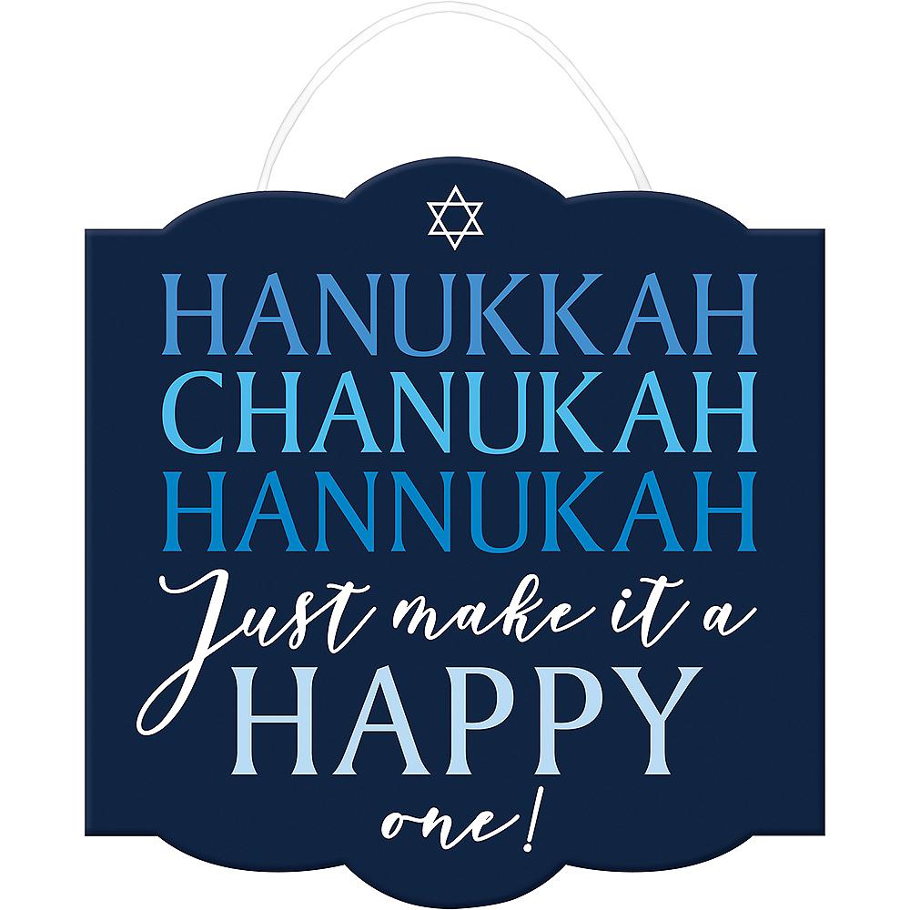 Make it a Happy Hanukkah Sign Image #1