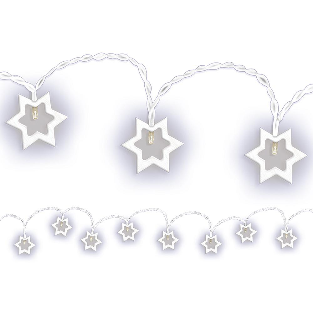 Star of David LED String Lights Image #1