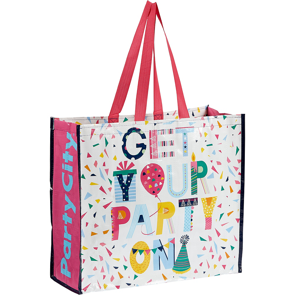 Get Your Party On Tote Bag Image #1