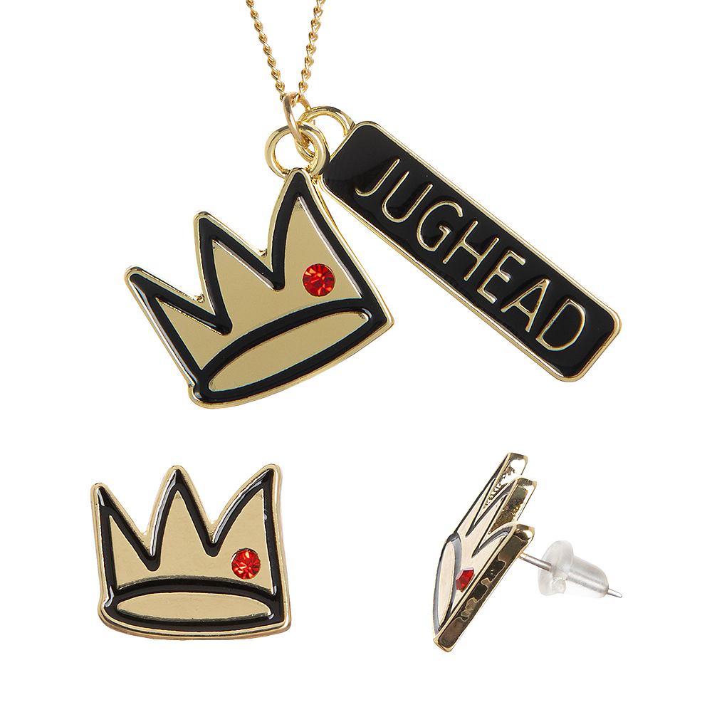 Jughead Necklace & Earrings Set - Riverdale Image #1