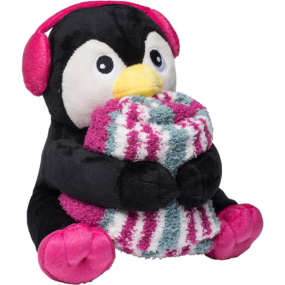 Penguin Plush Doll & Sock Set Image #1