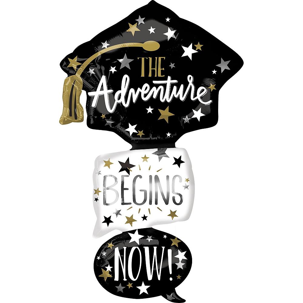 Adventure Begins Now Graduation Balloon Kit Image #5