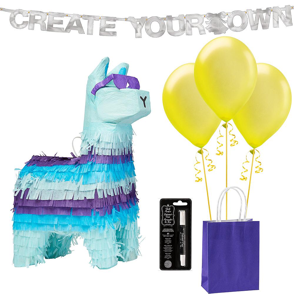 Battle & Build Inventory Llama Pinata Kit Image #1