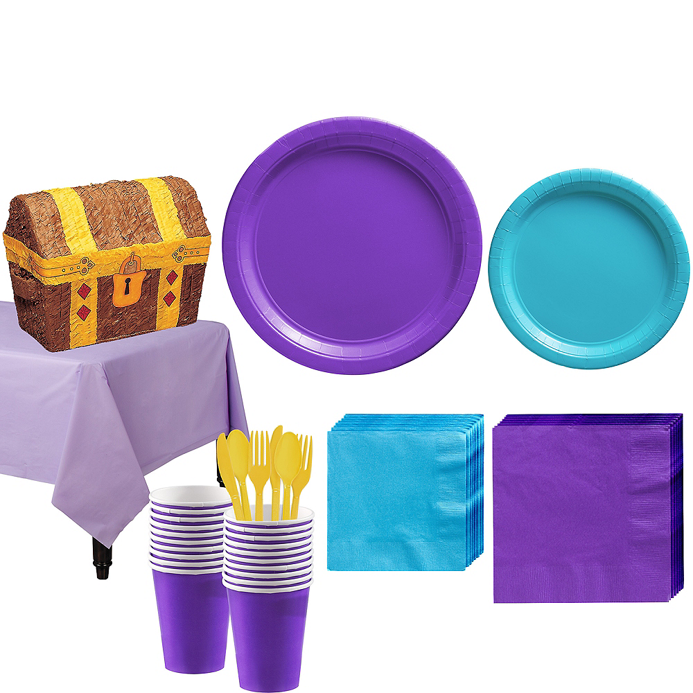 Battle & Build Game Tableware Kit for 20 Guests Image #1