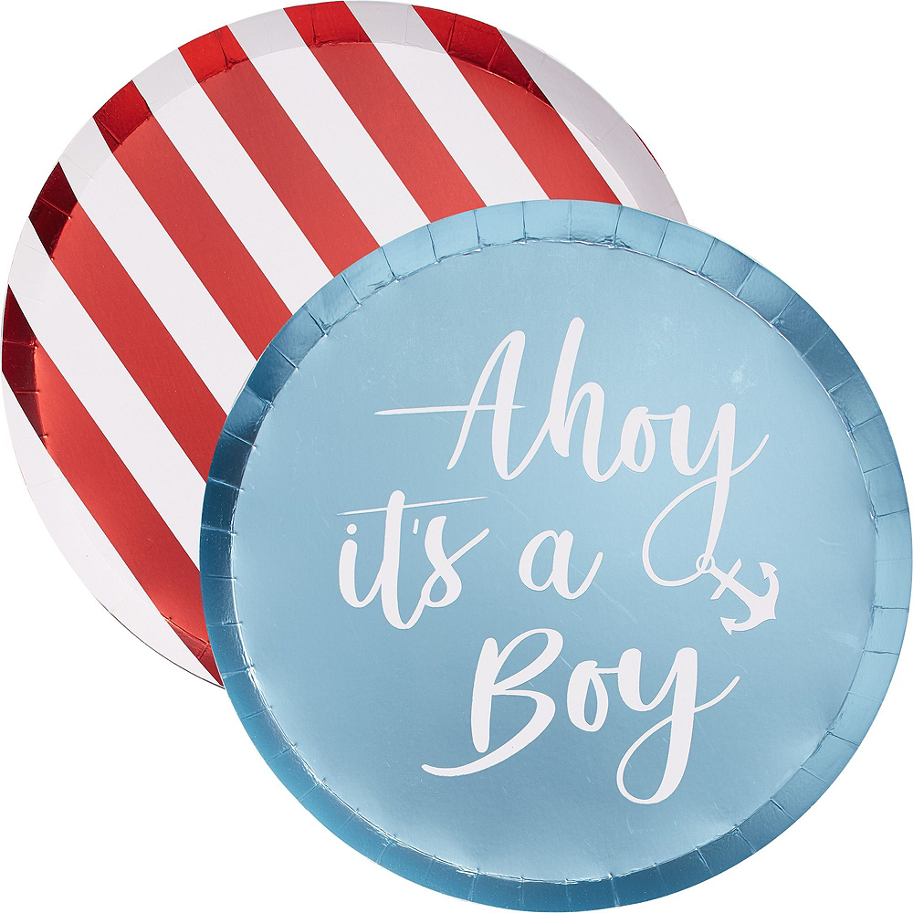 Nav Item for Ginger Ray Nautical Baby Shower & Balloon Kit for 32 Guests Image #3