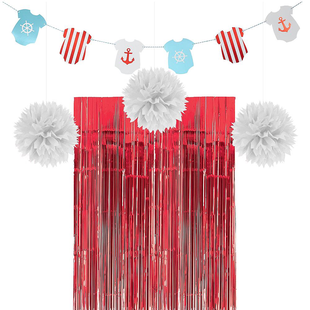 Ginger Ray Nautical Baby Shower Decorating Kit Image #1