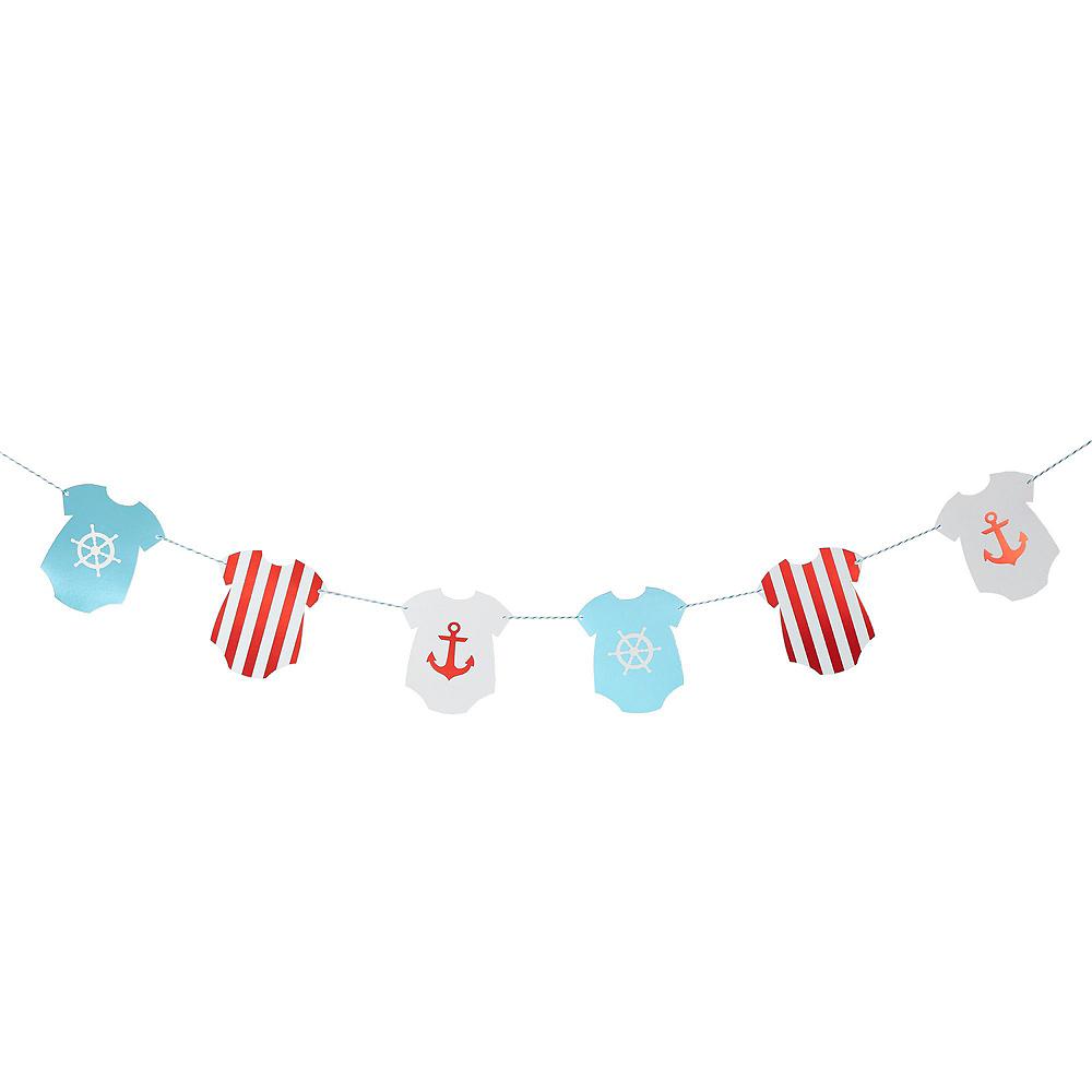 Ginger Ray Nautical Baby Shower Decorating Kit Image #4