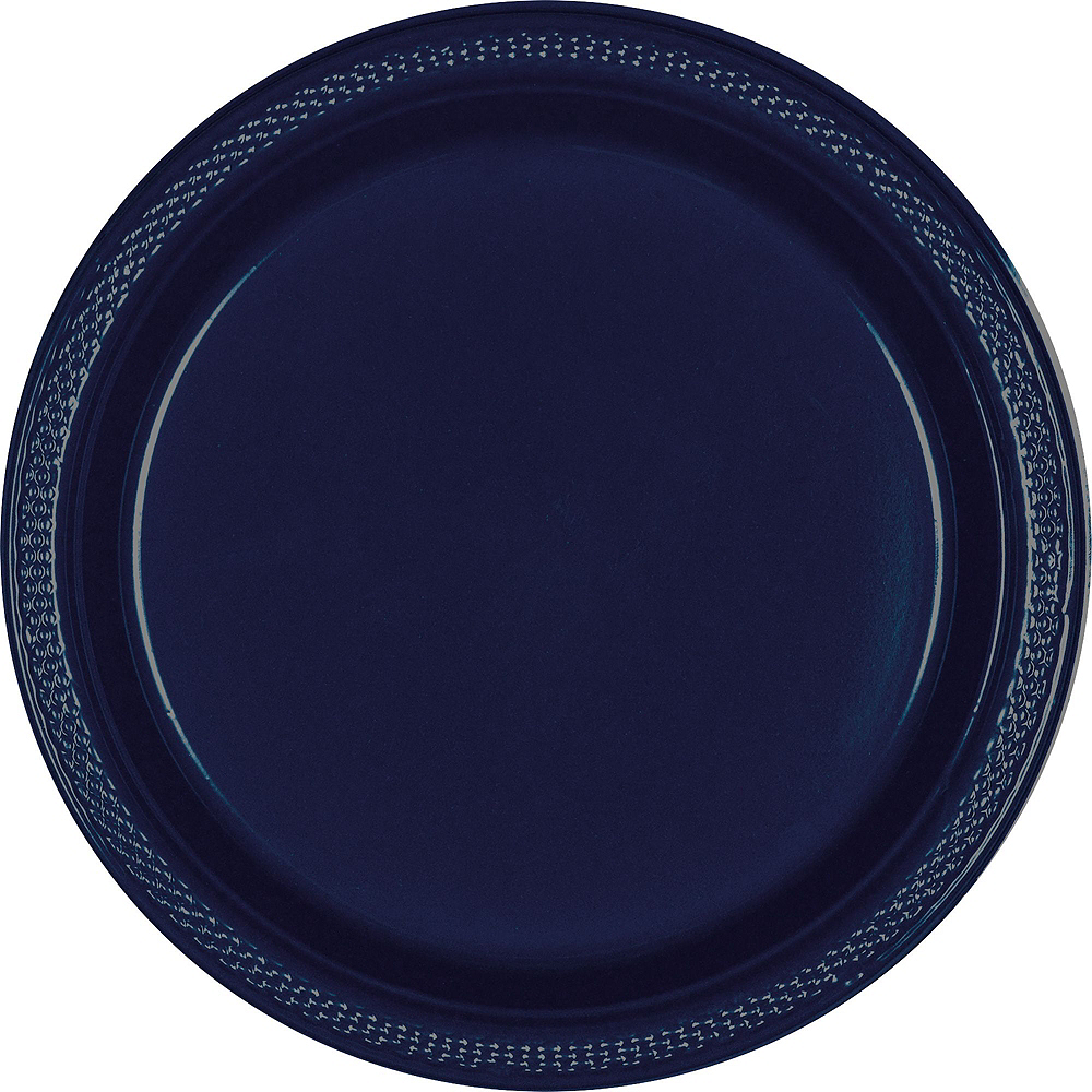 Nav Item for Navy Blue Paper Tableware Kit for 100 Guests Image #3