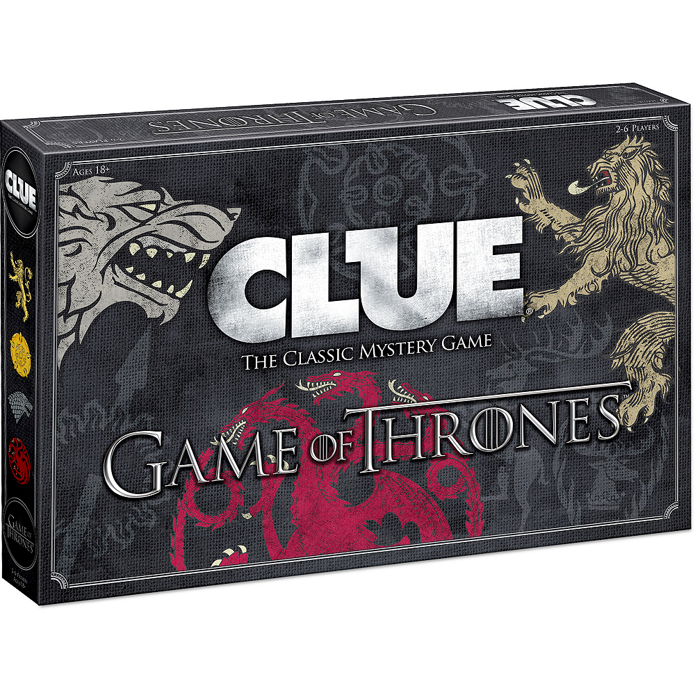 Clue Game of Thrones Edition Image #1