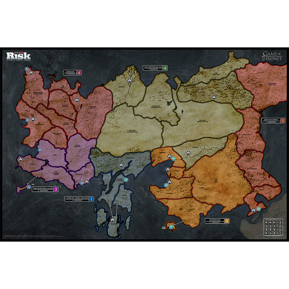 RISK®: Game of Thrones™ Edition Game Image #5