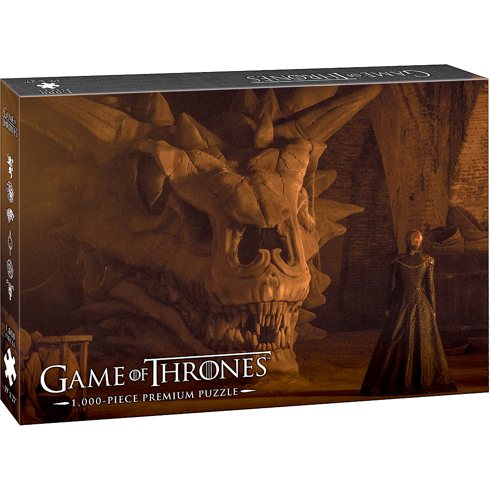 Balerion the Black Dread Game of Thrones Puzzle 1000pc Image #1