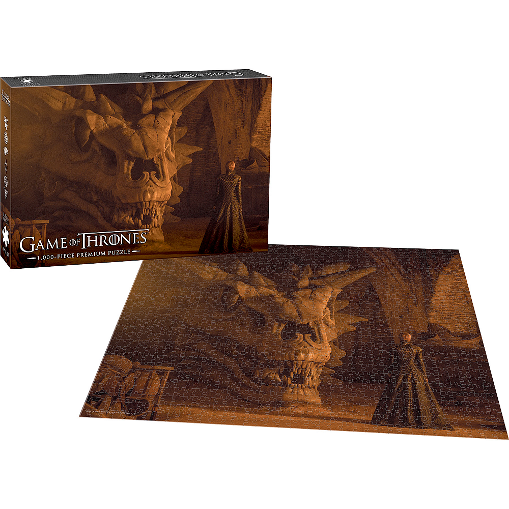 Balerion the Black Dread Game of Thrones Puzzle 1000pc Image #2