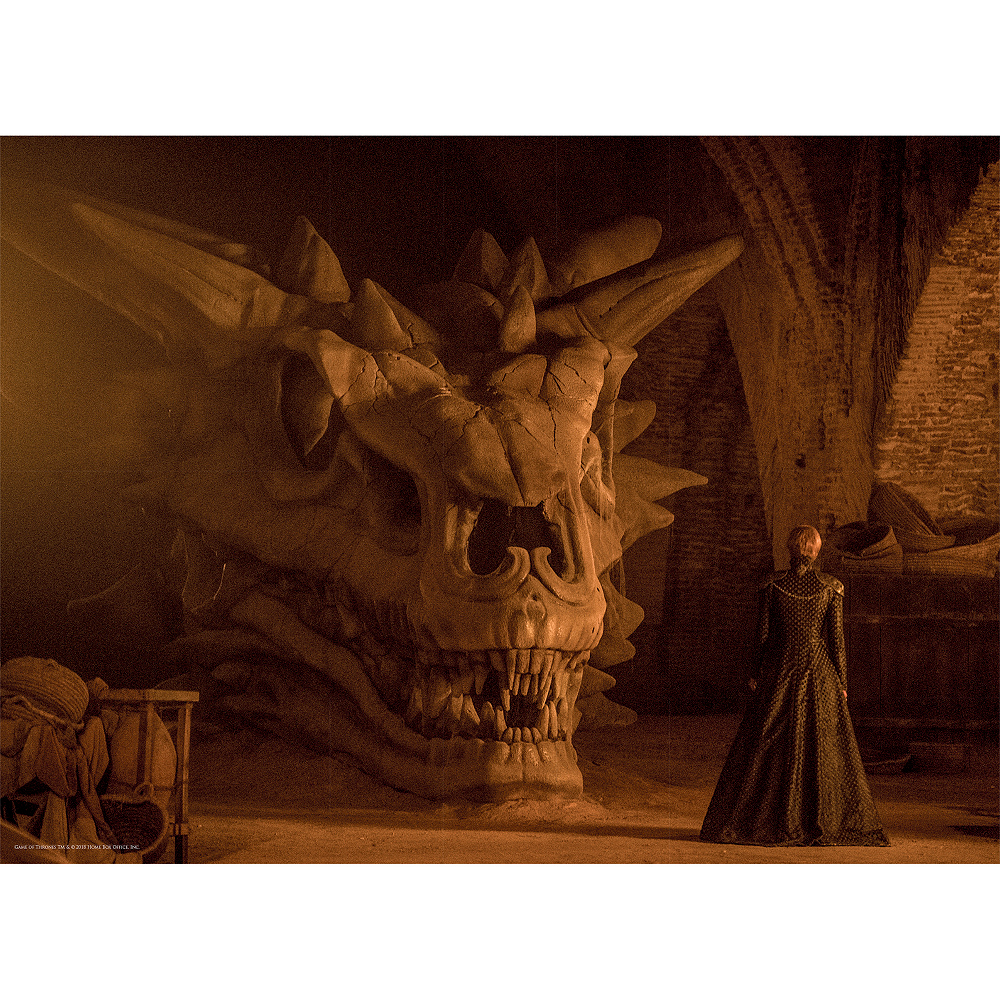 Balerion the Black Dread Game of Thrones Puzzle 1000pc Image #3