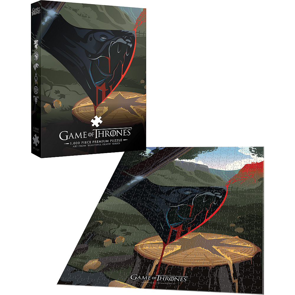 Violence is a Disease Game of Thrones Puzzle 1000pc Image #2