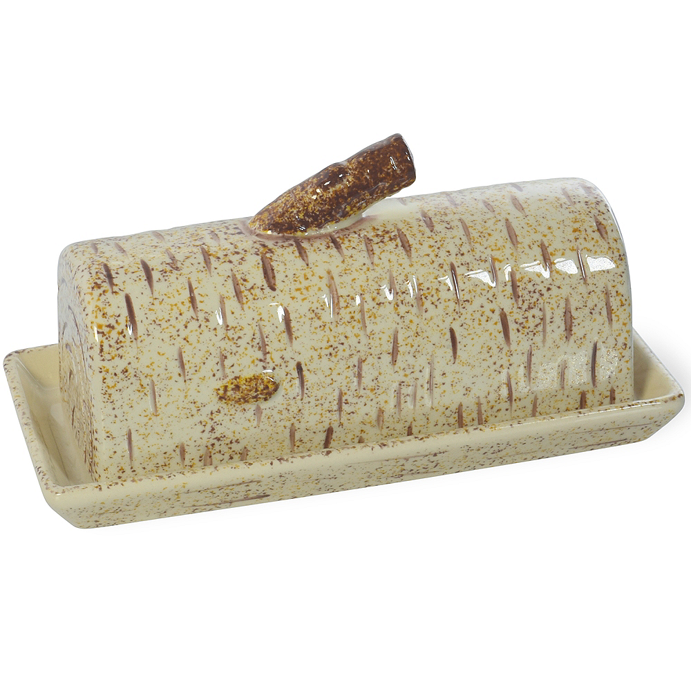 Nav Item for Birch Wood Butter Dish Image #1