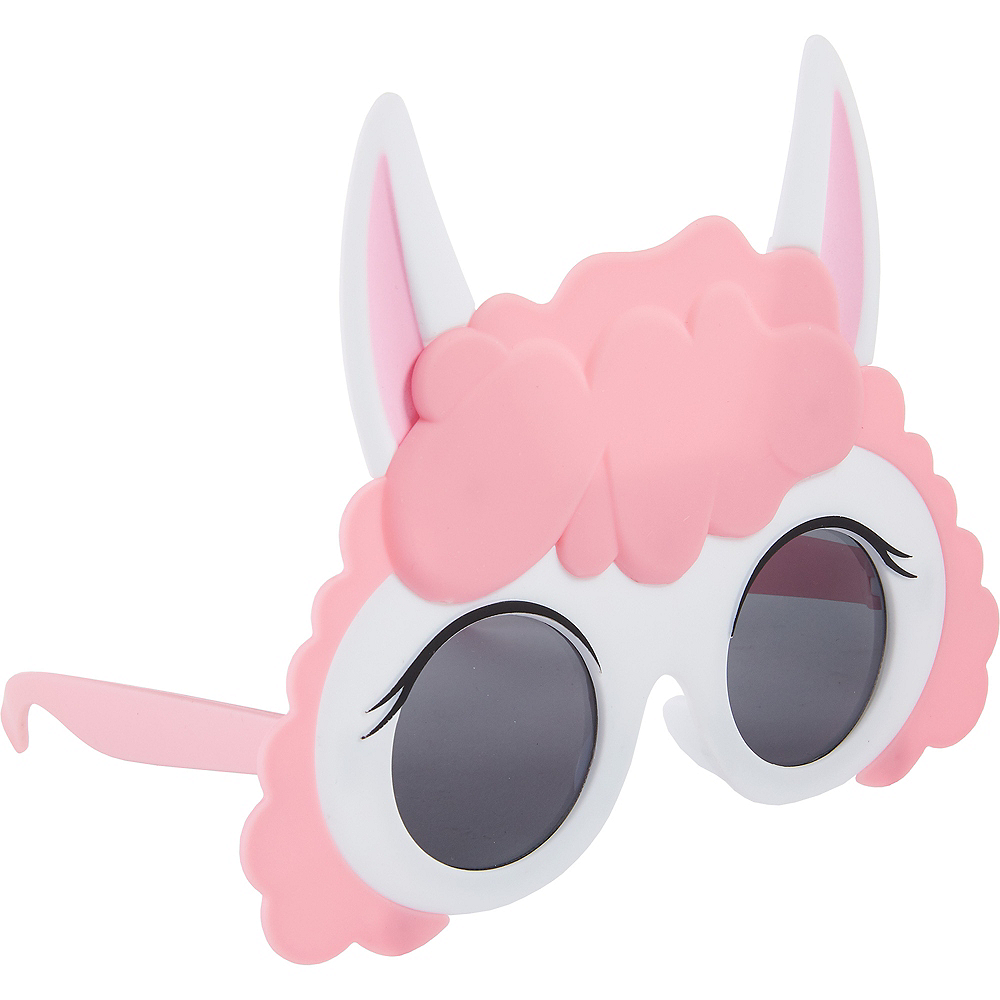 Nav Item for Pink Llama Sunglasses Image #2
