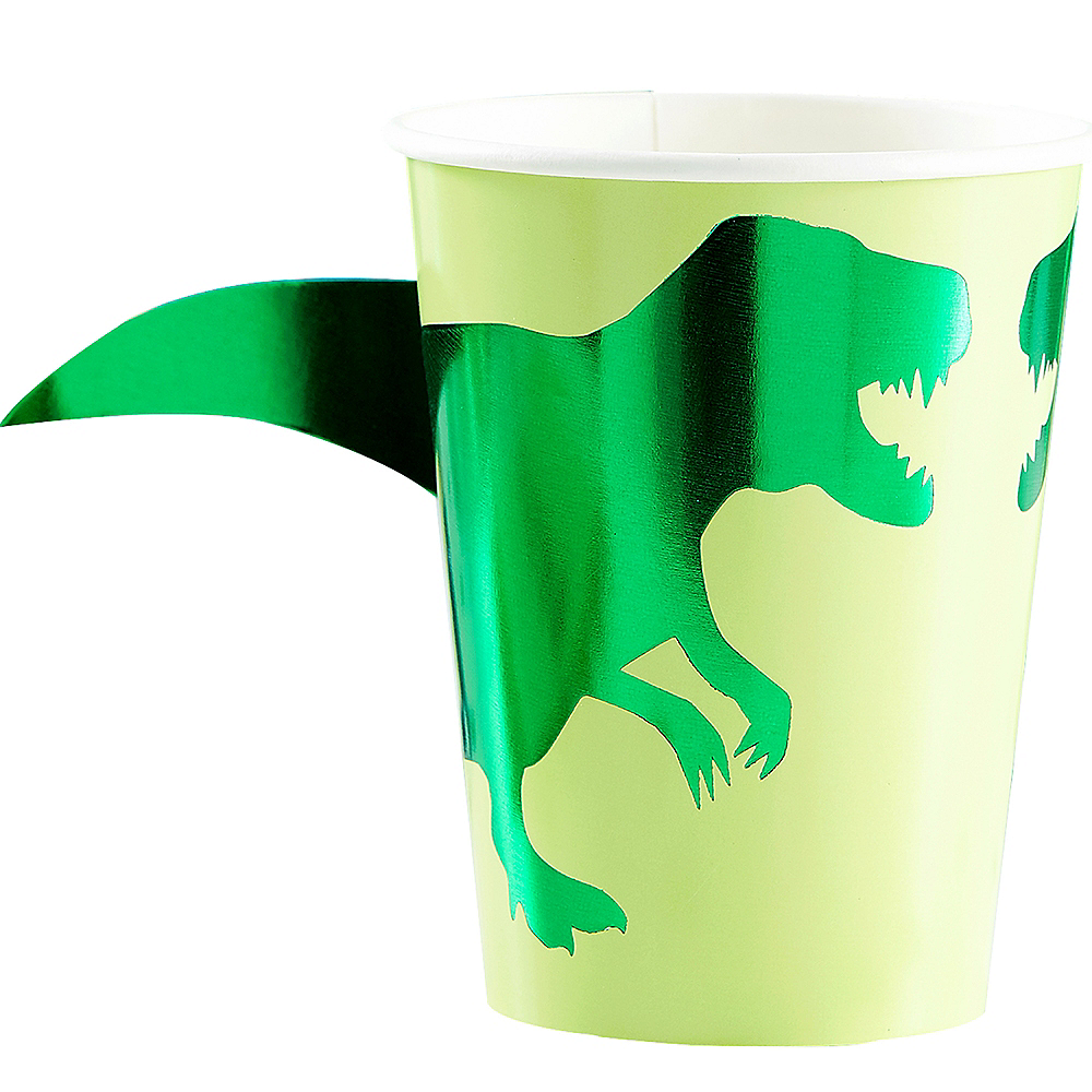 Roar Dinosaur Cups 8ct Image #1