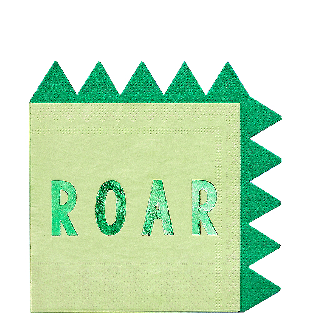 Roar Dinosaur Lunch Napkins 16ct Image #1