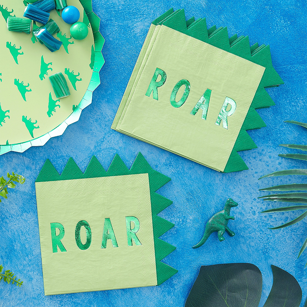 Roar Dinosaur Lunch Napkins 16ct Image #2