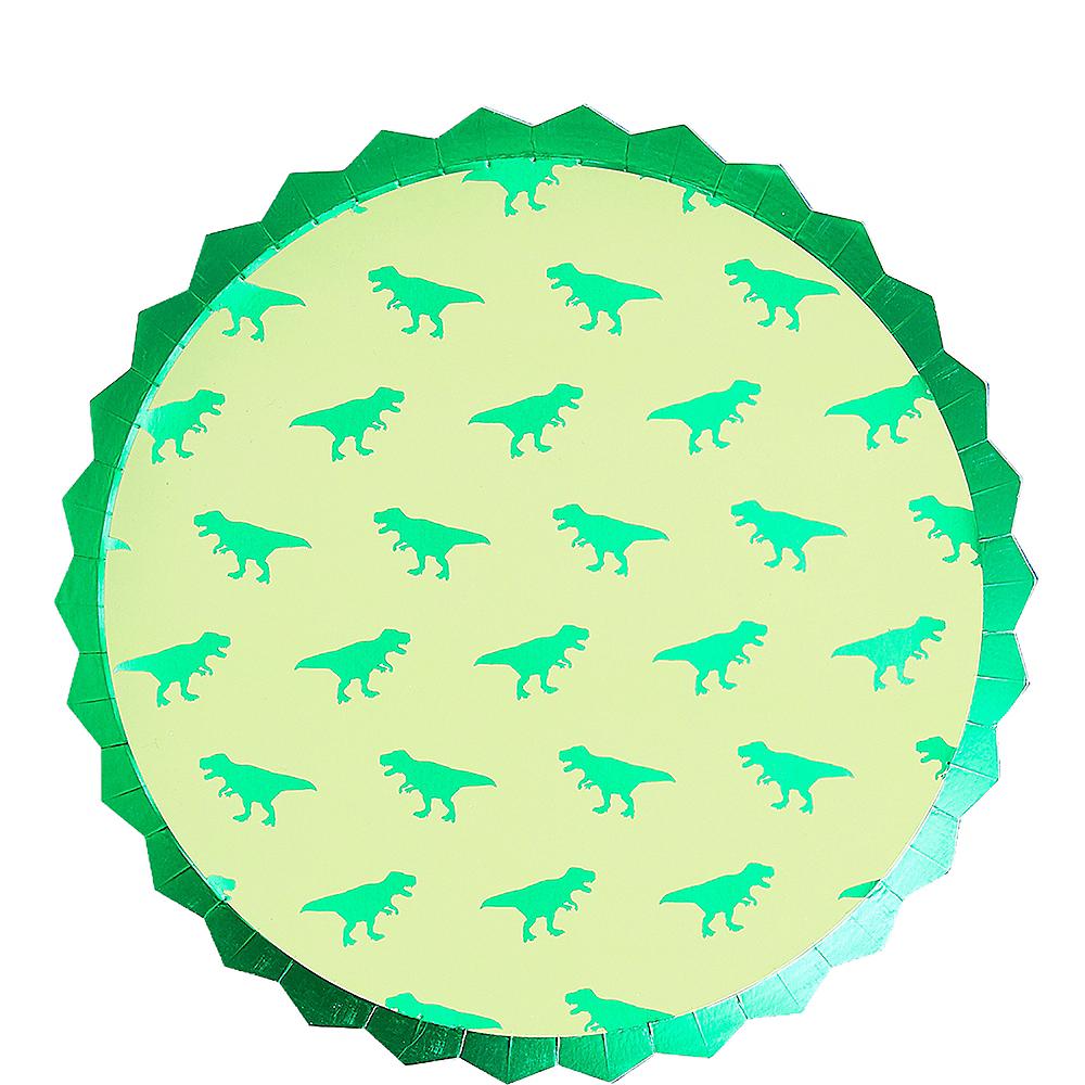 Roar Dinosaur Lunch Plates 8ct Image #1