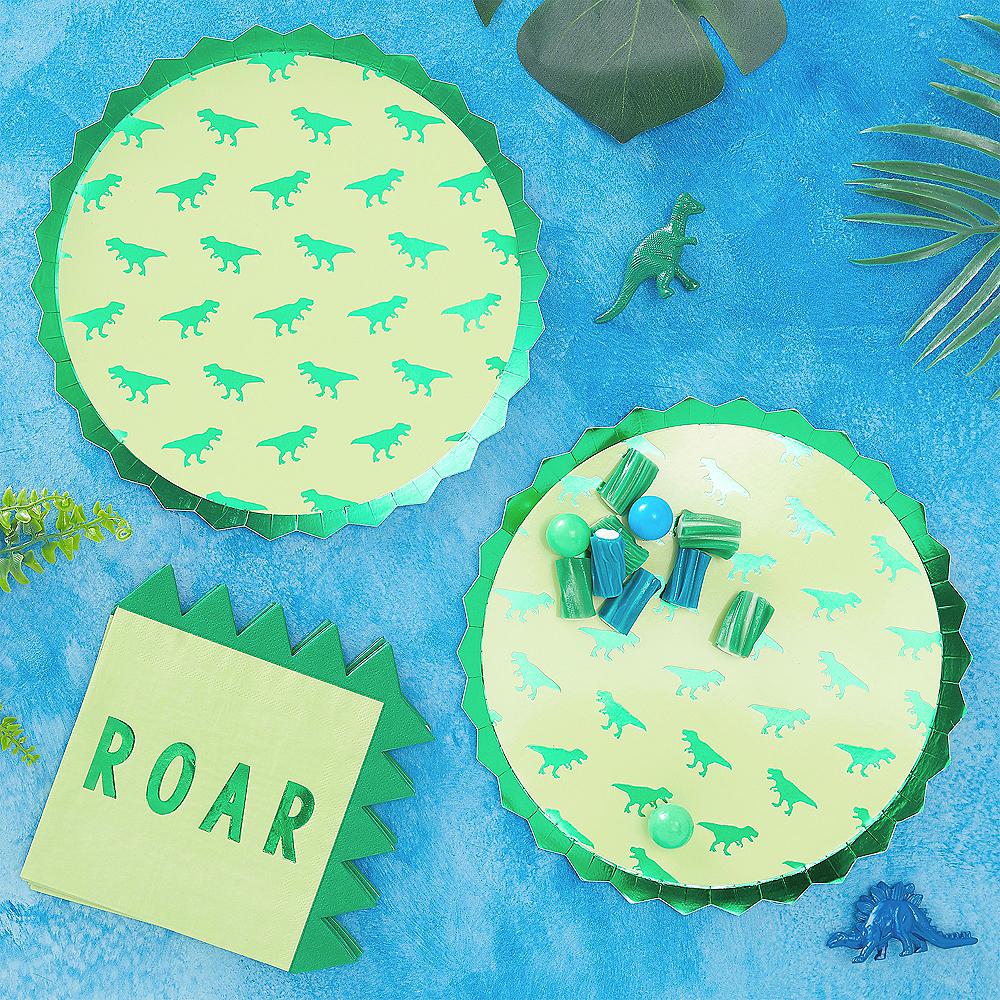 Roar Dinosaur Lunch Plates 8ct Image #2