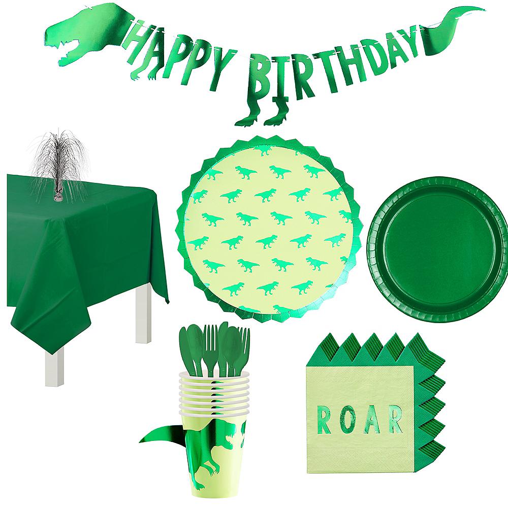 Roar Dinosaur Tableware Kit for 8 Guests Image #1