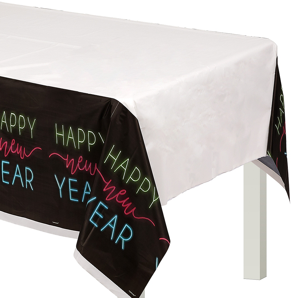 New Year's Glow Table Cover Image #1