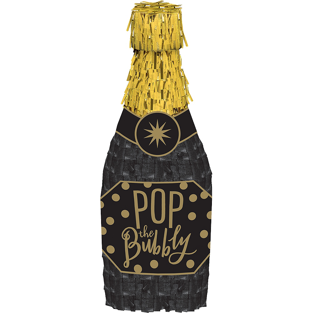 Mini Champagne Bottle Decoration Image #1