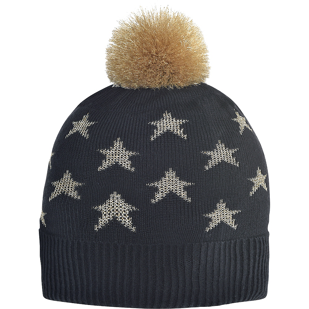 Nav Item for Black & Gold Star Beanie Image #1
