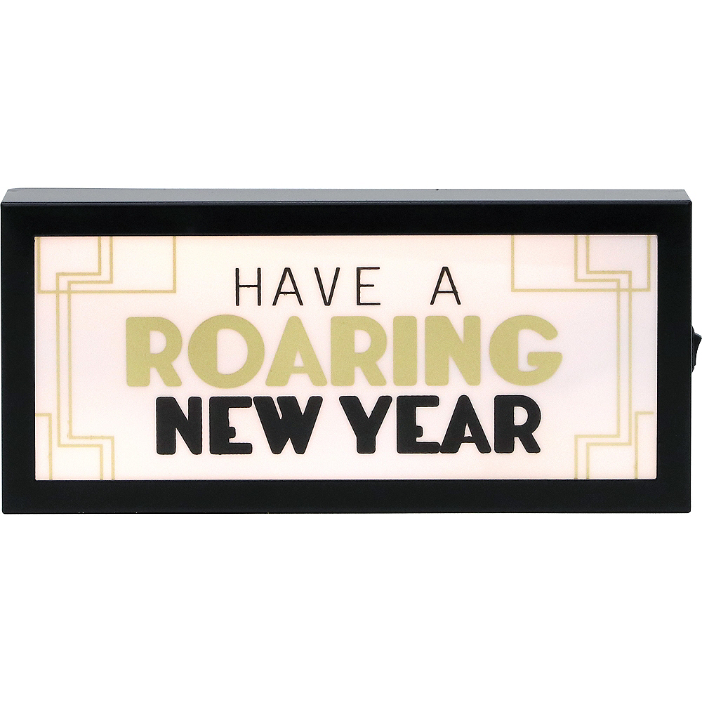Have A Roaring New Year Light Box Image #1