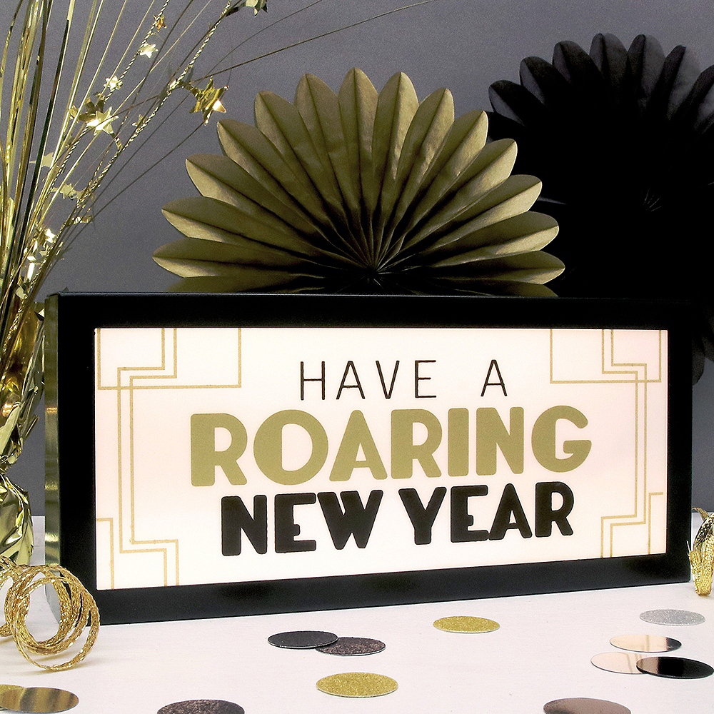 Have A Roaring New Year Light Box Image #2