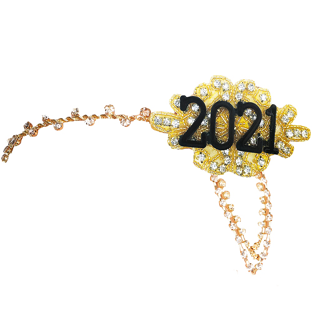 Gold Feather 2020 Headpiece Image #1