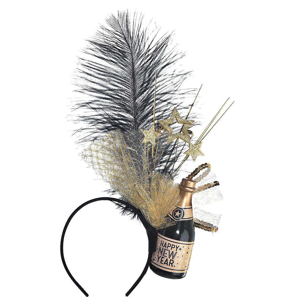 Champagne Happy New Year Headband Image #1