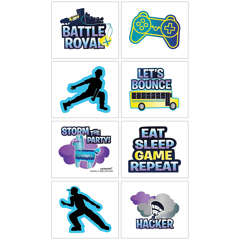 Battle Royal Tattoos 1 Sheet Image #1