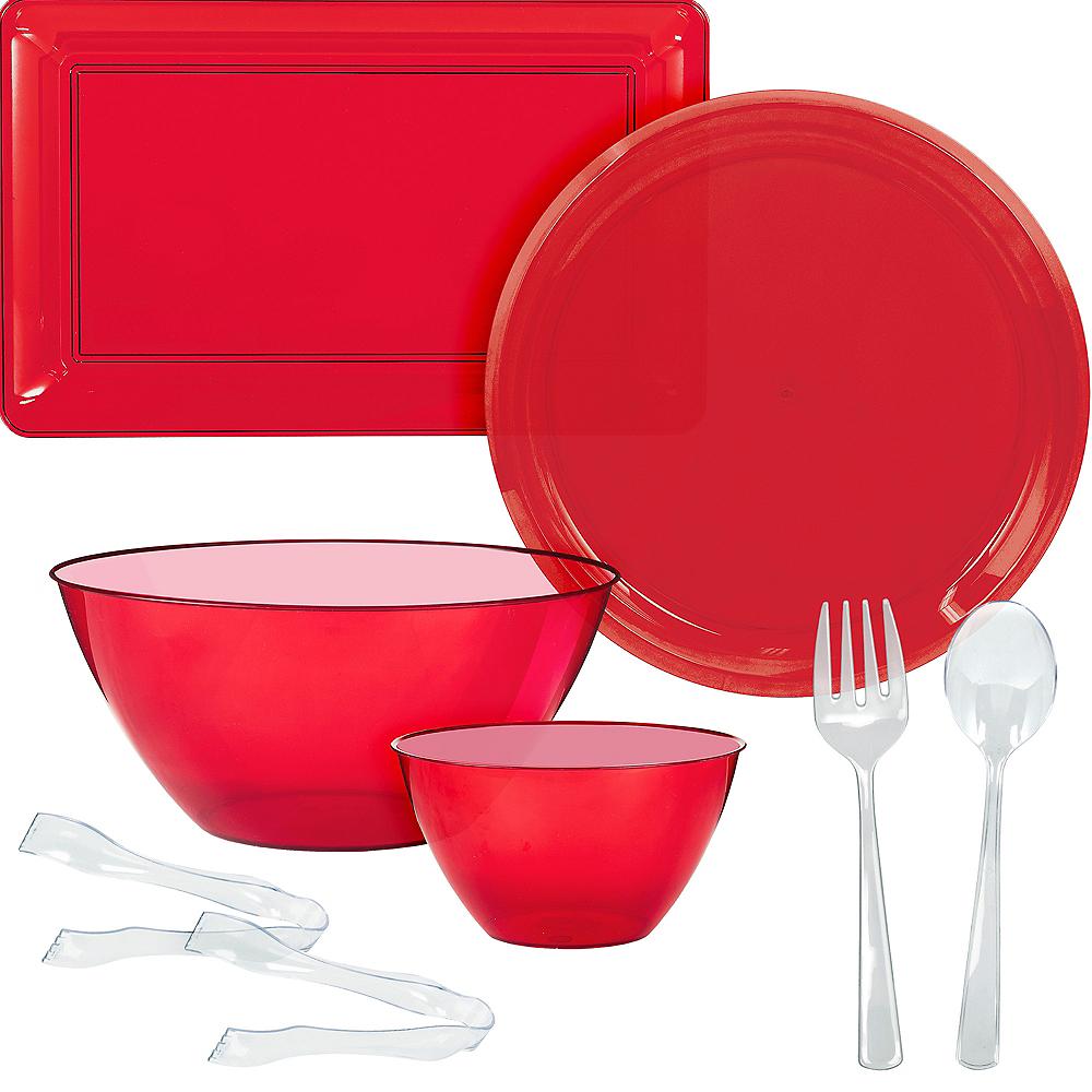 Red Serveware Kit Image #1