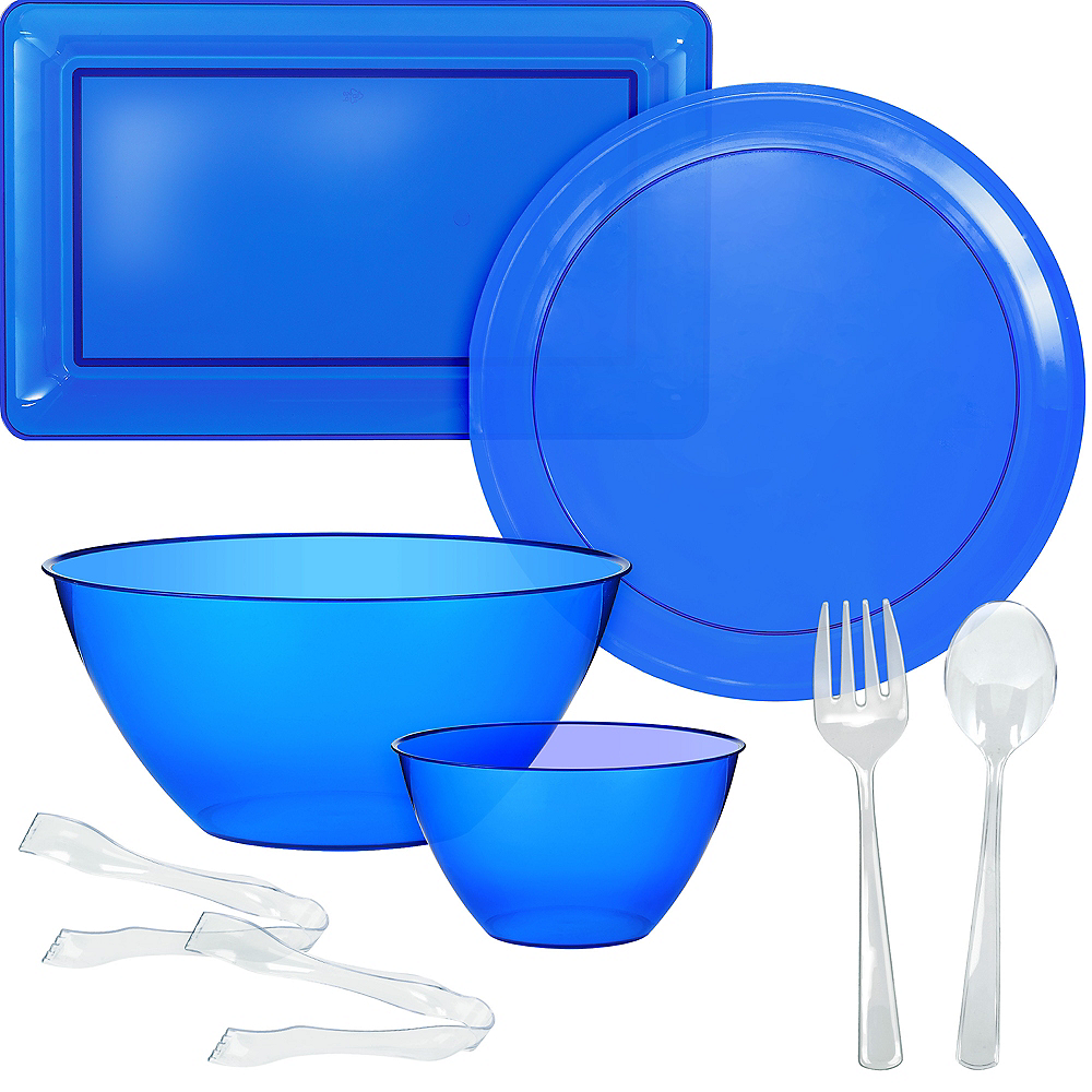 Royal Blue Serveware Kit Image #1