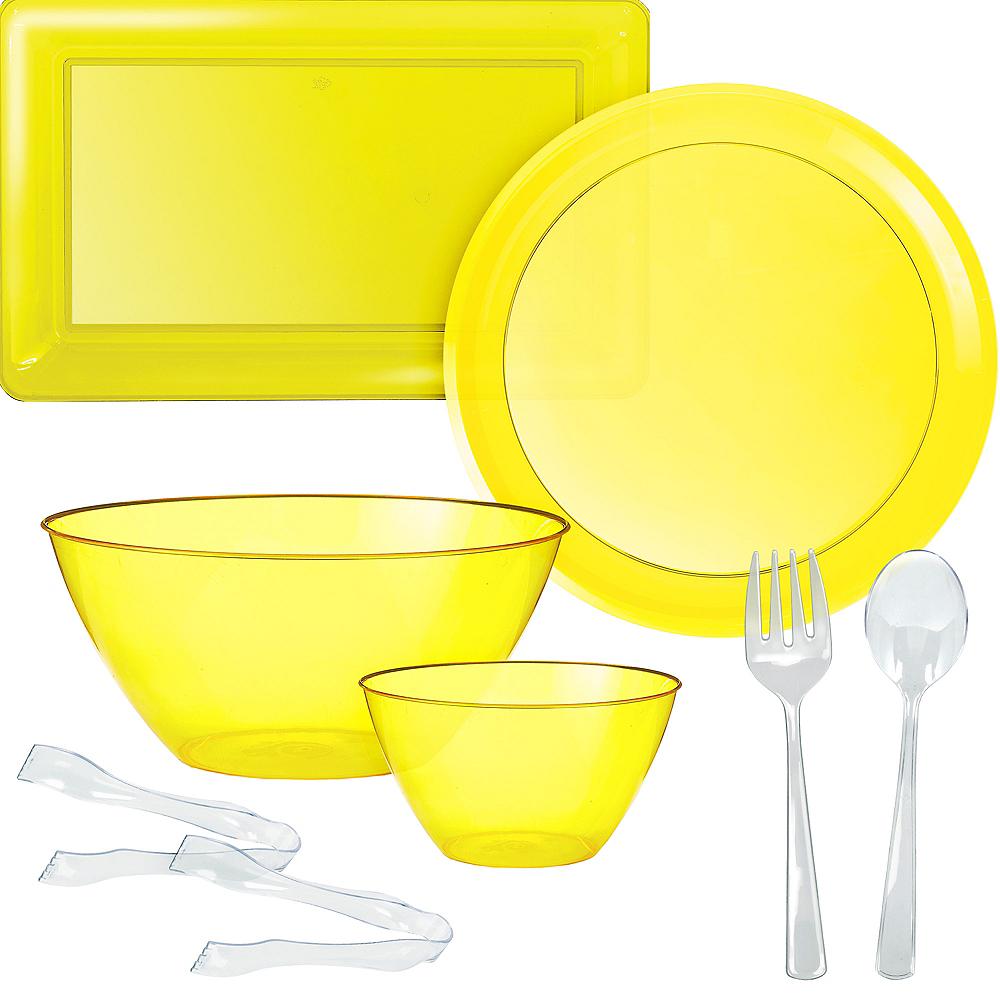 Yellow Serveware Kit Image #1
