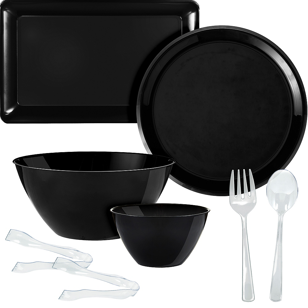 Black Serveware Kit Image #1