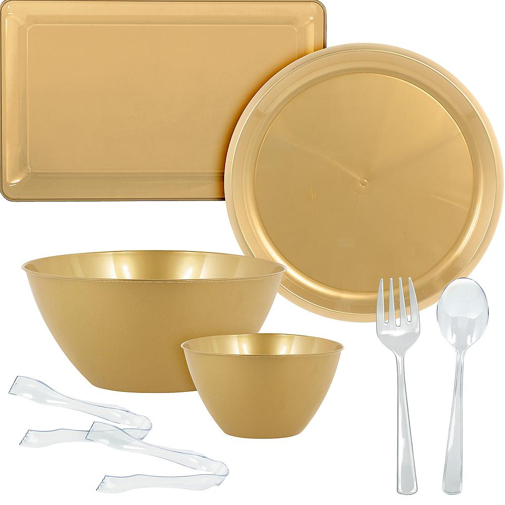 Gold Serveware Kit Image #1