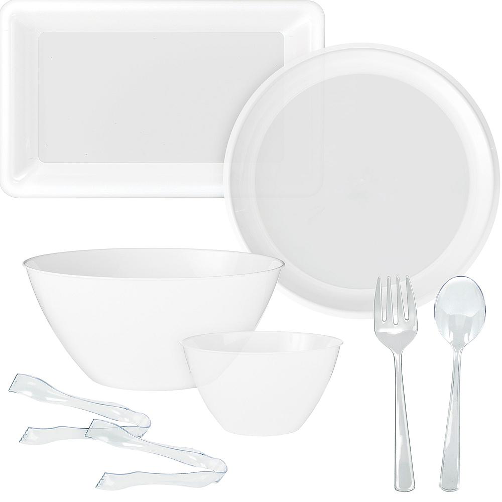 White Serveware Kit Image #1